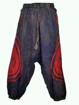 Sandwash hippy harem trousers