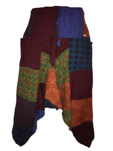 Funky patchwork harems