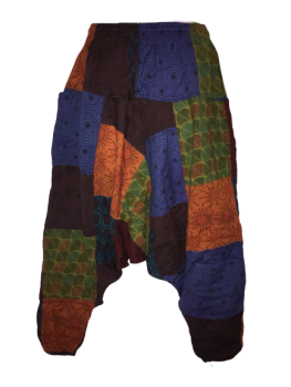 Funky patchwork Lucy harems