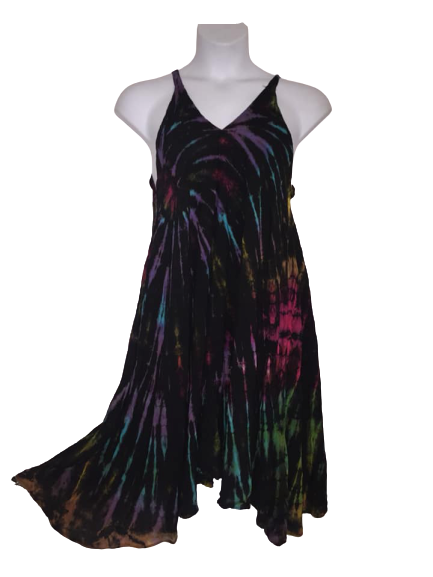 Tie dye Lucie dress