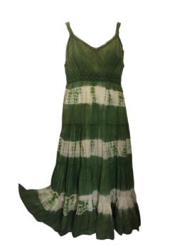 Tie dye boho layer dress