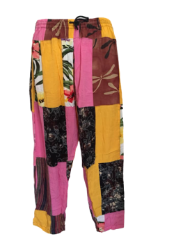 Funky hippy patchwork trousers