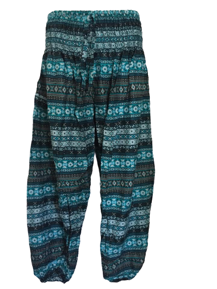 Hippy harem trousers