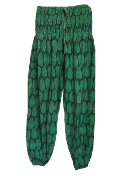 Hippy leaves harem trousers 12-22