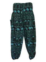 Gorgeous elephant harem trousers 14-20