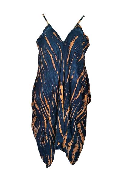 Tie dye jump-dress
