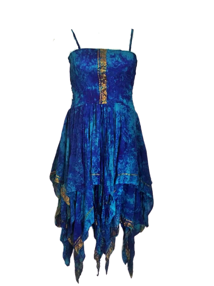 Long tie dye Tianna dress