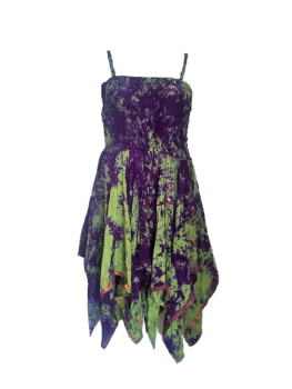 Shorter length tie dye  Tianna fae dress
