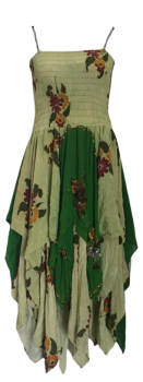 Maxi recycled vintage Tianna faery dress