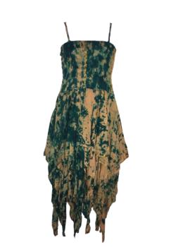 Tianna faery tie dye dress