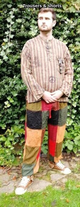 Hippy trousers & shorts