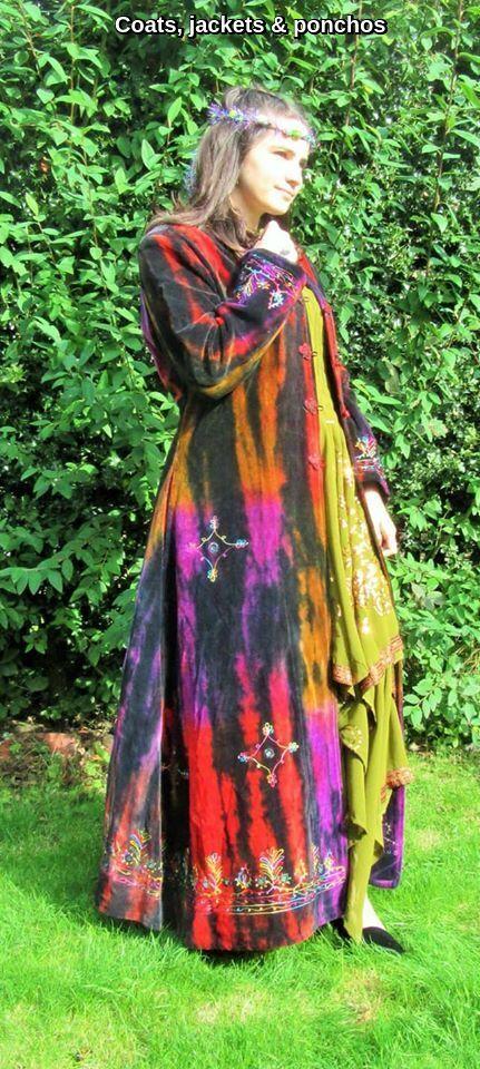 Hippy  coats,jackets & ponchos
