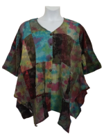 Stunning patchwork  Darcy  hippy top