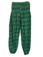 Hippy leaves harem trousers