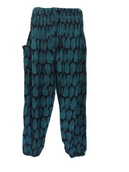 Hippy leaves harem trousers 14-22 [PLUS SIZE]