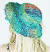 Hippie fringed hat