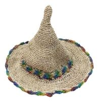 Hemp pointy hat