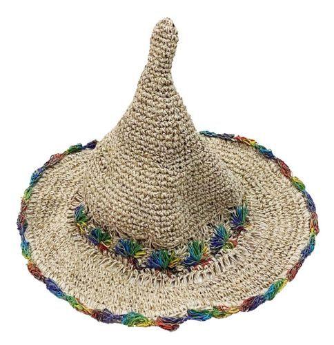 Hemp pointy hat