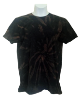 Bleach dye tee shirt