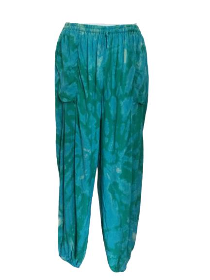 Tie dye  harem trousers