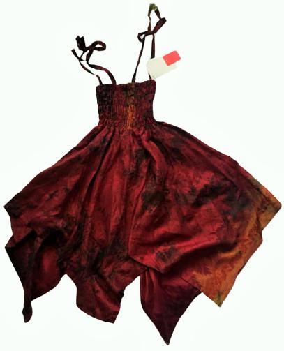 Faery pixie hem dress