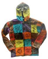 Funky fleece lined hippy jacket