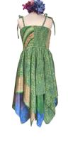 Faery pixie hem summer  dress ,approx age 8-12