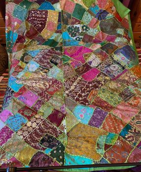 Fabulous massive hippy  wall hanging ,or settee ,bed throw