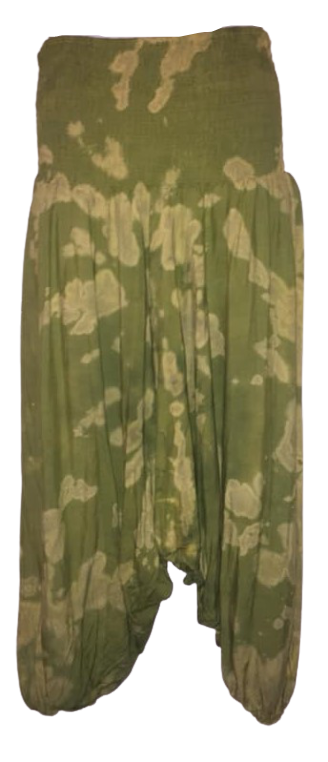 Gorgeous plus size harem trousers , 2 looks wear high or low
