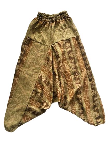 Snuggly warm cashmillon harem trousers