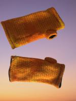 Fleece lined wrist wrmers