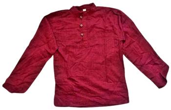 Cotton grandad shirt [size small ]