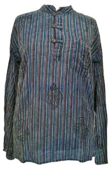 Cotton grandad shirt [size X  Large ]