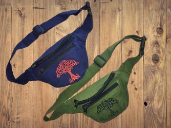 Celtic design bum bag