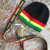 Rasta style hat and belt