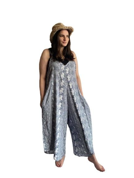 Elephant romper / jumpuit