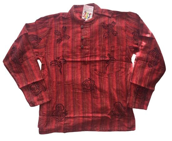 Cotton grandad shirt [ chest approx 40 inches]