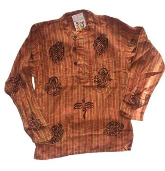 Cotton grandad shirt [ chest approx 38 inches]