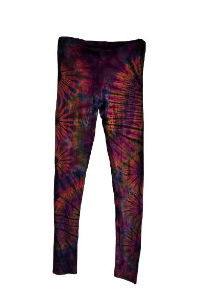 Funky tie dye leggings 10-14
