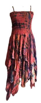 Beautiful silk  detailed Tianna faerie dress 14-20