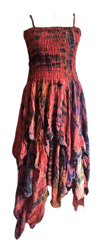 Beautiful silk  detailed Tianna faerie dress 14-20