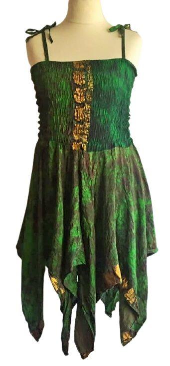 Shorter length tie dye  Tianna fae dress 12-22