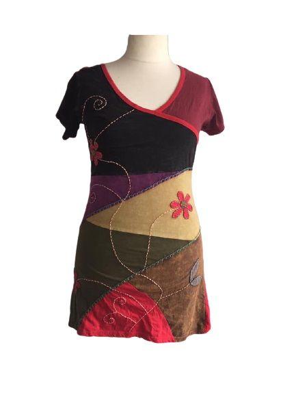 Lovely applique flower dress