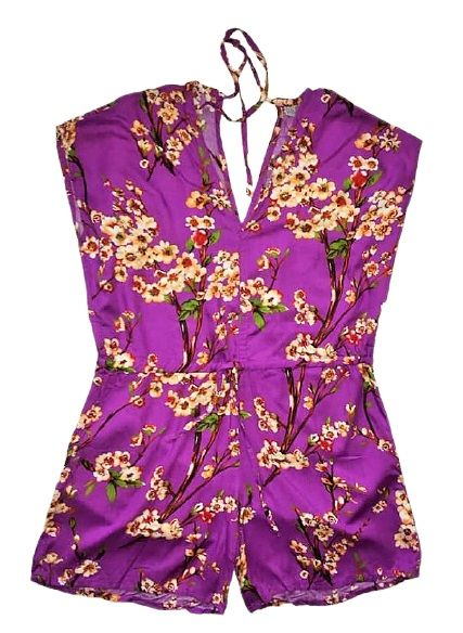 Gorgeous floral playsuit