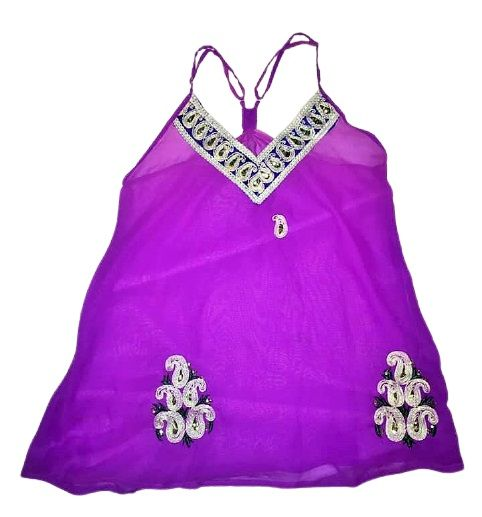 Pretty decorated  summer top