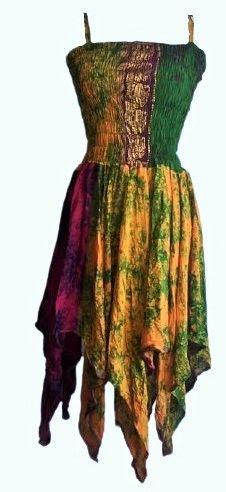 Beautiful silk  single layered detailed Tianna faerie dress 10-14  approx