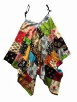 Funky patchwork romper