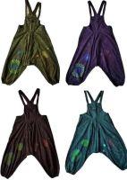 Gorgeous applique harem dungarees/4 colours / 4 sizes