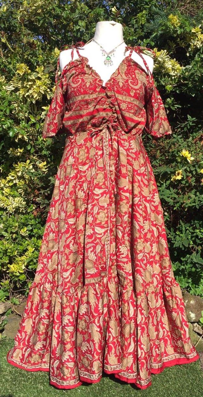 Beautiful bohemia dress, 3 looks from one dress 18-24