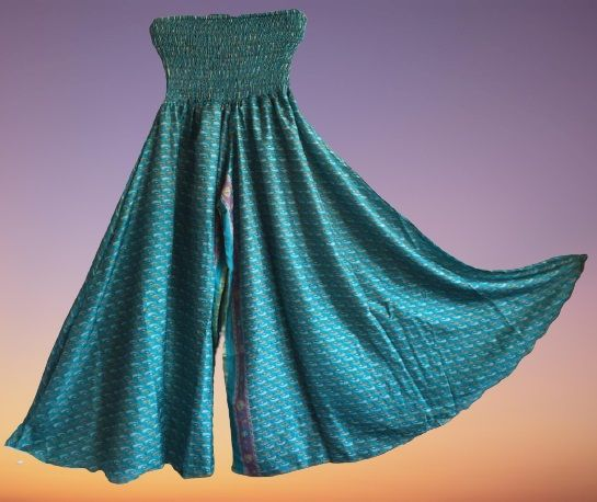 Gorgeous silk palazzo trousers 12-18